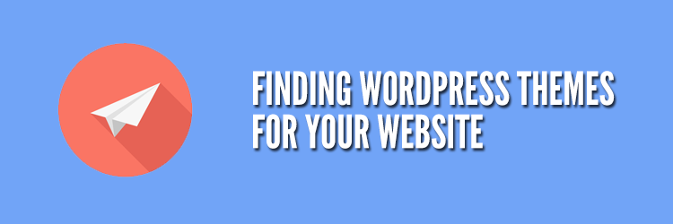 Finding WordPress Themes for your Website
