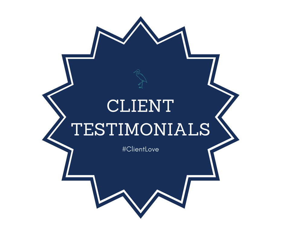 We Love Our Clients! Testimonials!